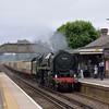70000 Britannia passes Bagshot with 1Z88 Alresford/Alton to Cambridge & Ely<br /> <br /> 7 June 2012