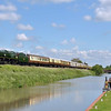 35028 Clan Line alongside the Avon Kennet canal at Crofton with  1Z91 Victoria - Bristol Temple Meads<br /> <br /> 13 June 2012