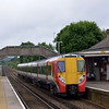 Juniper 8022 at Bagshot with the 09.12 Reading - Waterloo<br /> <br /> 7 June 2012