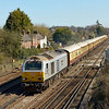 67029 +VSOE set passing Worting Junction with 1V80 09.44 Victoria - Bath Spa<br /> <br /> 28 March 2012