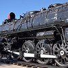 Close up the AT&SF 4-8-4 No. 3759 is even more impressive.<br /> Kingman, Arizona<br /> <br /> 21 November 2012