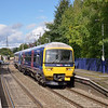 165120 was sharing local duties with a Class 150 today.<br /> Here it stops at Bramley with the 12.53 to Basingstoke from Reading<br /> <br /> 3 October 2012