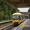165111 speeds through Wanborough with the 11.34 from Redhill - Reading<br /> <br /> 9 October 2012