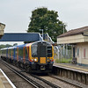 450090 draws into Wanborough with the 11.23 from Ascot - Guildford<br /> <br /> 9 October 2012