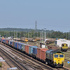 66540 approaches Eastleigh with 4O51 Wentloog - Southampton Maritime freightliner<br /> <br /> 5 September 2012