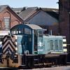 Eastleigh works shunter Ruston 07007<br /> <br /> 5 September 2012