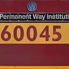 EWS liveried Class 60 No.60045 'The Permanent Way Institution'<br /> <br /> 5 September 2012