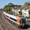 Desiro 444017 takes a break at Southampton<br /> <br /> 7 September 2012