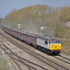 56091 passing Hinksey with the10:53 Calvert to Didcot fly ash empties<br /> <br /> 15 April 2013