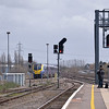 Adelante 180108 races past Didcot with1W32 1221 London Paddington to Great Malvern service<br /> <br /> 15 April 2013