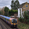 450557 passes Chiswick with the 1322 London Waterloo to Weybridge<br /> Photographed while waiting for the DCR training run from Derby, which in the end failed to run!<br /> <br /> 1 February 2013