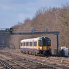 444034 passing Walton on Thames with 1P30 the 09:45 Portsmouth Harbour to Waterloo<br /> <br /> 5 February 2013