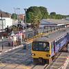 143603 departs from Paignton with the 1835 service to Exeter St Davids<br /> <br /> 8 July 2013