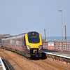Class 220 Voyager 220007 draws into Dawlish with a Plymouth bound service<br /> <br /> 7 July 2013