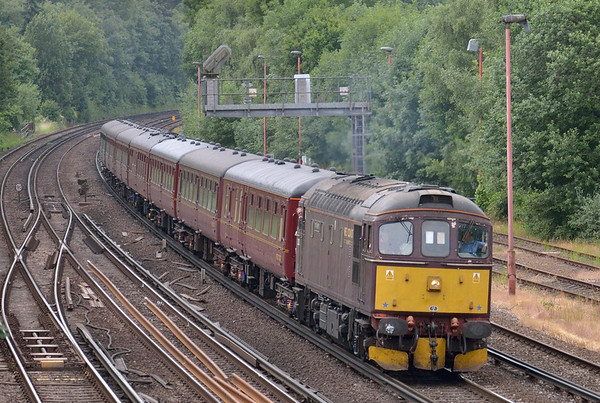 Trains July 2013