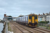 150248 races non-stop through Starcross with 2U20 the 12.48 from Paignton to Cardiff Central<br /> <br /> 29 November 2013