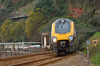 Another unidentified XC Voyager leaves Kennaway Tunnel Dawlish with 1M49 the 09.40 from Penzance to Manchester Piccadilly<br /> <br /> 26 November 2013