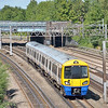 Unit 378215 forms London Overground service 2C25 the 13.01 Watford Junction to Euston<br /> <br /> 2 September 2013
