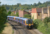 Approaching Egham, Desiro pairing 450076/096  form 2S28  the 10.33 service from Weybridge to Waterloo<br /> <br /> 29 August 2014
