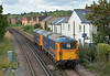 GBRf Class 73 Nos.73141 and 73213 pass Egham station working 0Y62 from Eastleigh  - Tonbridge<br /> <br /> 29 August 2014