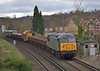 Moving to Newark from Totton as 6Z31 56312 pulls through Egham followed by  PNAs + Railvac + PNAs + 31452 + 31190 <br /> <br /> Well at least it wasn't raining today! <br /> <br /> 28 February 2014