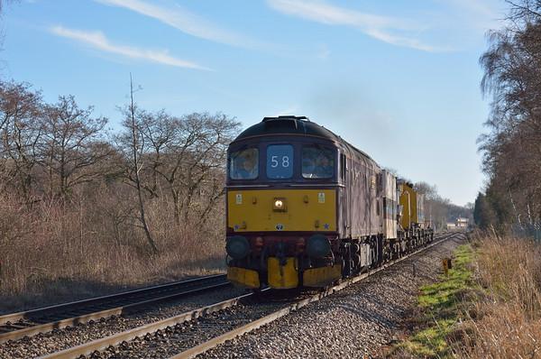 Trains January 2014