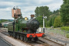 GWR 0-6-0 No 3205<br /> Buckfastleigh, South Devon Railway<br /> <br /> 22 July 2014