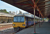 The faded charm of Torquay station plays host to 143617 as it halts with 2F49 the 17.13 Paignton to Exmouth service<br /> <br /> 21 June 2014