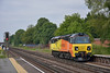 Colas 70806 returns light engine  from Eastleigh to Hoo as 0Y42 in place of the more usual 6Y41 engineers train<br /> <br /> 19 June 2014