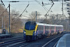 Hull Trains Class 180  Adelante No.180109 races north through Welham Green with 1H04 the 13.48 service from London Kings Cross to Hull<br /> <br /> 29 December 2016