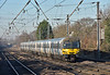 365509 speeds past Welham Green with 1T31 11.54 service from Kings Lynn to London Kings Cross<br /> <br /> 28 December 2016