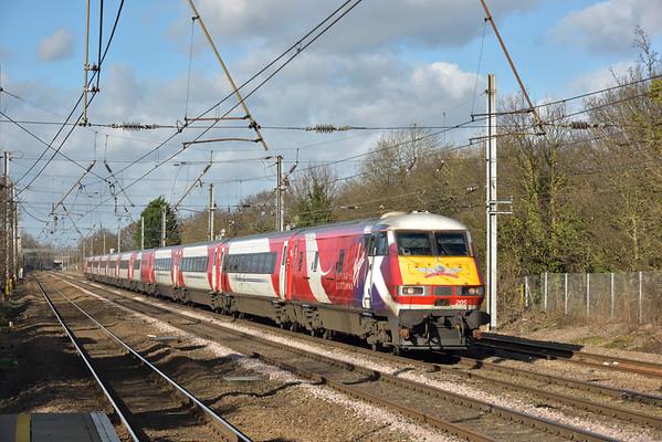 Trains February 2016