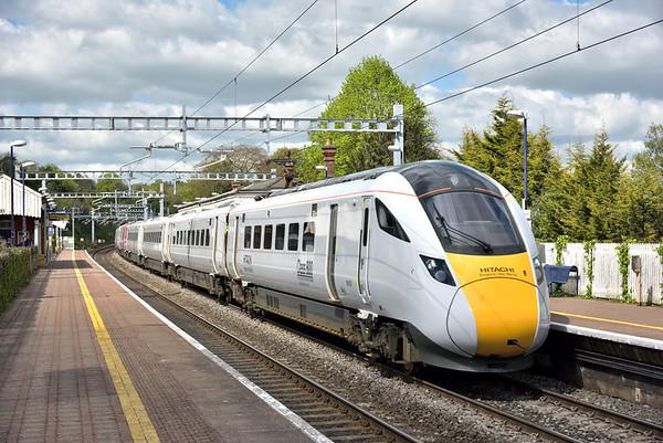Trains April 2017