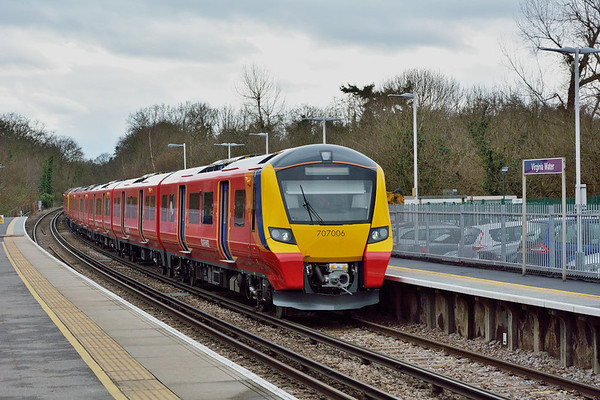 Trains March 2017