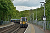 Class 458/5 Desiro 458512 arrives at Virginia Water working 2S38 13.03 Weybridge to London Waterloo<br /> <br /> 2 May 2017