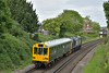 DRS Class 37 No.37409  'Lord Hinton'  + Inspection Saloon Caroline passing Farncombe working 2Z02  from Salisbury to Woking via Alton etc.<br /> <br /> 16 May 2017