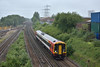 Sprinter 158888 passes Southampton Maritime as it works 2R50 13.50 from Salisbury to Romsey<br /> <br /> 29 May 2017