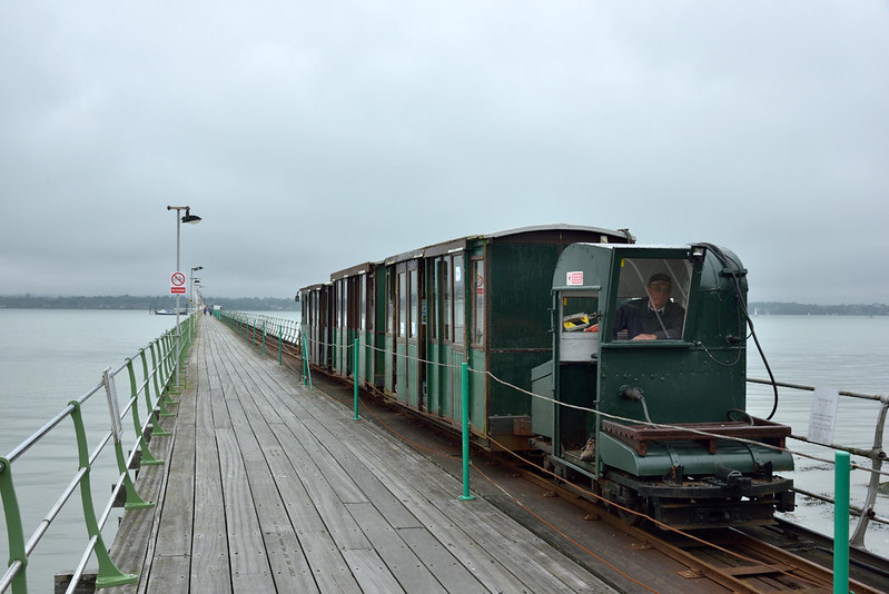 The Hythe Pier Railway