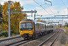 Turbo 166209  races past Burnham with 1P41 the 12.01 service from  Oxford to Paddington<br /> <br /> 16 November 2017