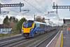 FGW Adelante 180106 speeds through Burnham working 1P40 the 09.58 from Great Malvern to London Paddington<br /> <br /> 28 November 2017