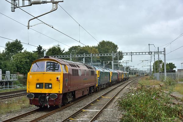 Trains September & October 2017