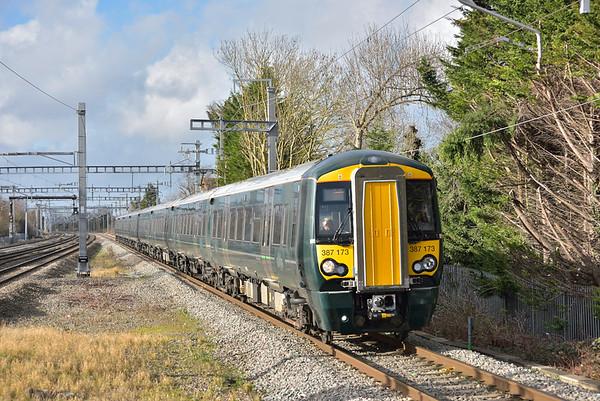 Trains January 2018