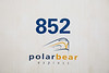 Polar Bear Express logo on coach 852.