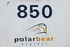 Polar Bear Express logo on coach 850.