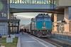 VIA eastbound train 644 at Belleville. HDR efx default. Locomotive 6407.