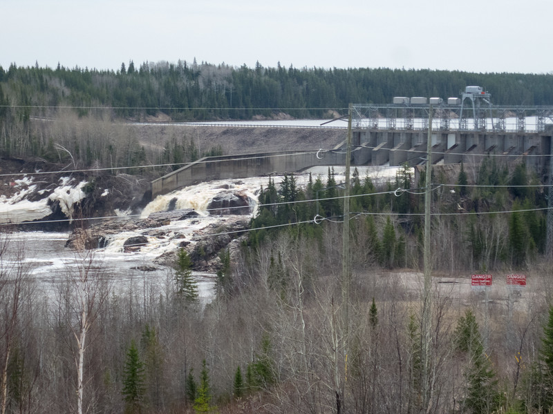 Otter Rapids dam