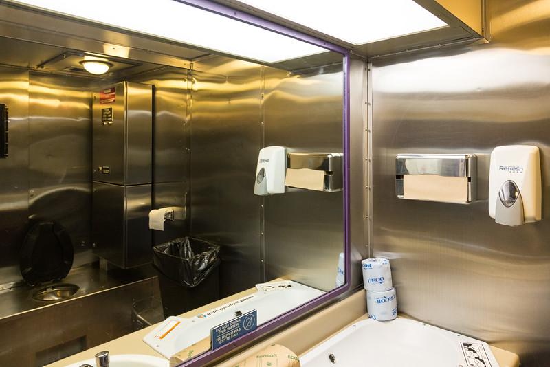 Washroom 851 coach.