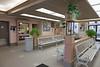 Waiting room at Cochrane train station.