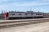 Canadian National Railways CNR 1501 track inspection vehicle in Moosonee.