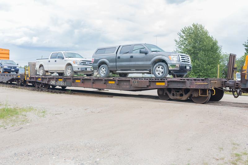 Flatcar 100501.